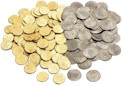 200 Mixed Pirate Treasure Coins