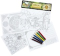 Celtic Educational Colouring Postcards