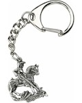 George & The Dragon Key-Ring