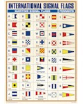 Maritime Signal Flags Poster - A3