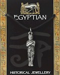 Egyptian Mummy Pendant - Pewter
