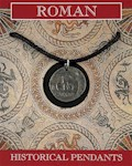 Roman Coin Pendant - Pewter
