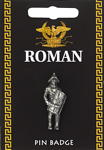 Roman Gladiator Pin Badge