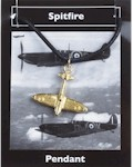 Spitfire Pendant - Gold Plated