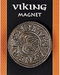 Viking Silver Coin Magnet